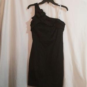David's Bridal Little Black Dress Cocktail Size 10